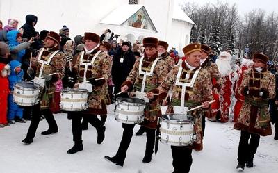 Главный Дед Мороз в Суздале